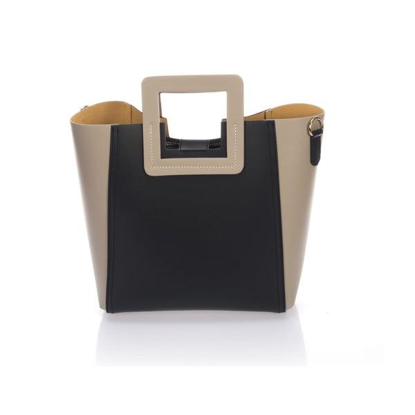 Kožená kabelka Italia 3002 Fango