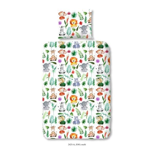 Lenjerie de pat din bumbac satinat Muller Textiels Rassano Samia, 120 x 150 cm