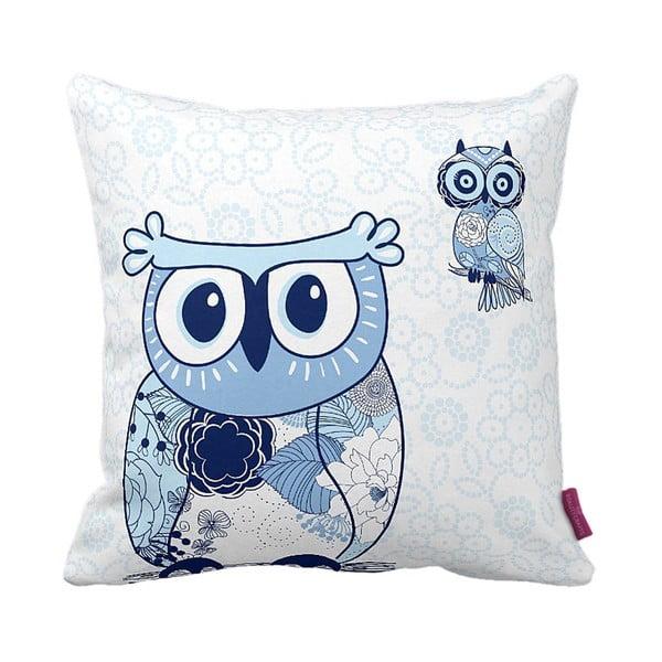 Polštář Blue Owl, 43x43 cm