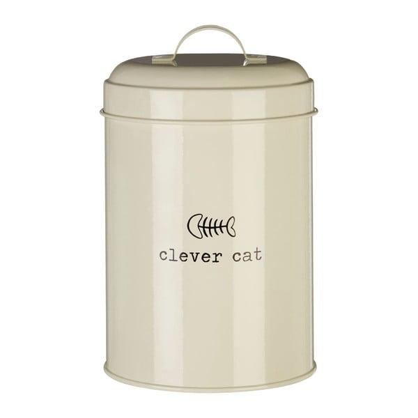 Dóza na krmivo pro kočky Premier Housewares Clever Cat, 1,2 l