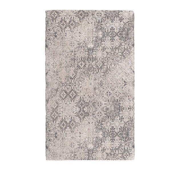 Koberec Chenille, 70x110 cm, šedý