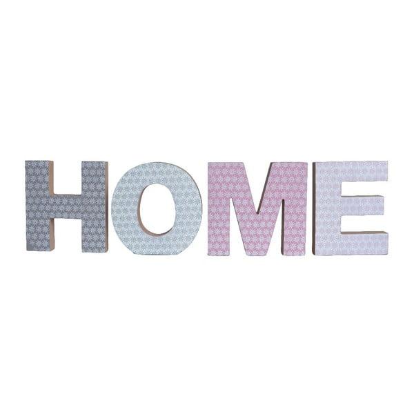 Sada 4 ozdobných písmen Ewax Home