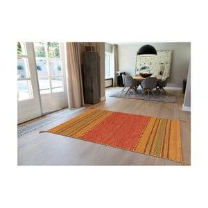 Ručně vyráběný bavlněný koberec Arte Espina Navarro 2918 Terra, 80x150cm