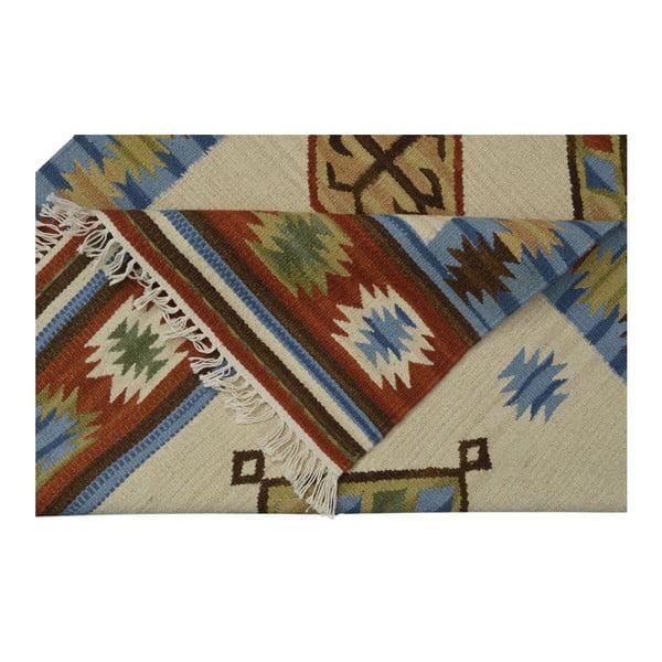 Ručně tkaný koberec Kilim Classic K26 Mix, 95x155 cm