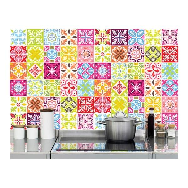Colored 60 db-os matrica szett, 10 x 10 cm - Ambiance