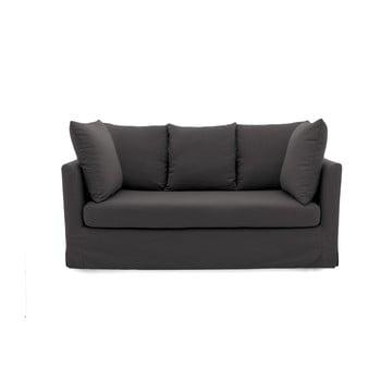 Canapea cu 3 locuri Vivonia Coraly, gri antracit de la Vivonita