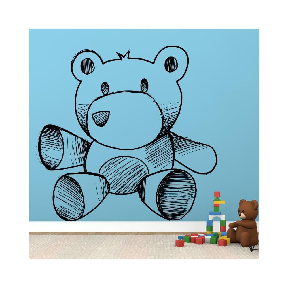 Samolepka Plysovy Medvidek 60x60 Cm Bonami