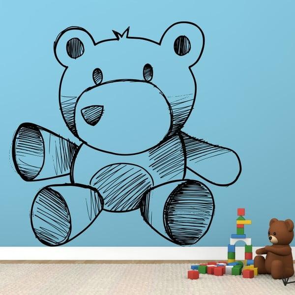 Samolepka Plyšový medvídek, 60x60 cm