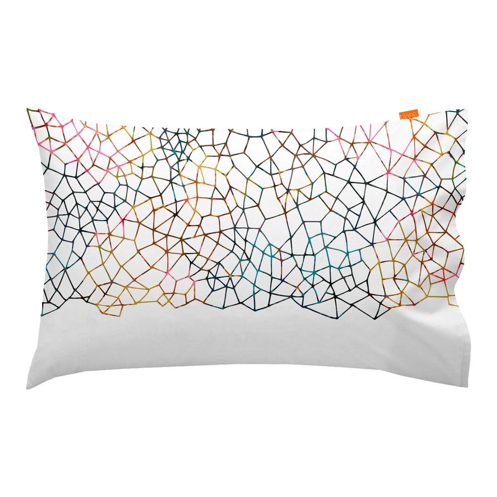 Sada 2 bavlněných povlaků na polštář Blanc Net, 50x80cm