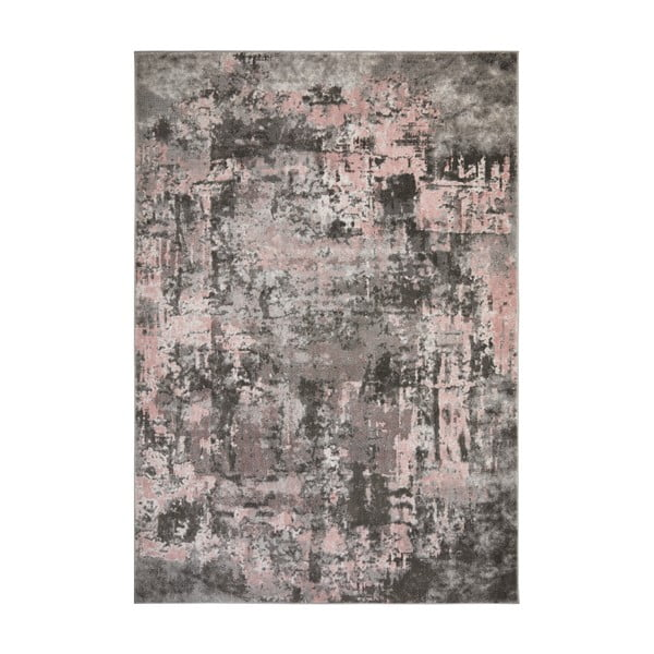 Covor Flair Rugs Wonderlust, 80 x 300 cm, gri - roz