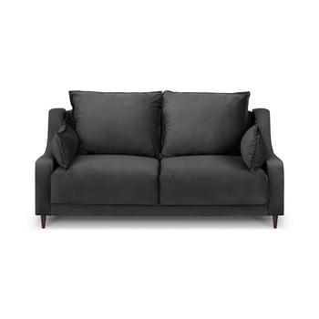 Canapea cu 2 locuri Mazzini Sofas Freesia, gri închis de la Mazzini Sofas
