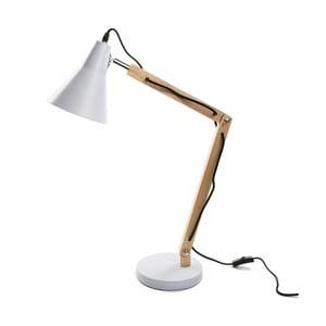 Bílá stolní lampa Versa Work