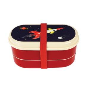 Dvoupatrový box na svačinu Rex London Space Age