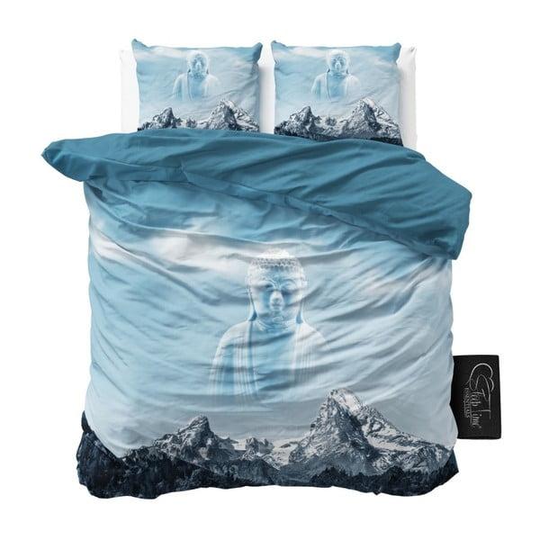 Lenjerie de pat din bumbac Dreamhouse Sky Buddha, 240 x 200 cm