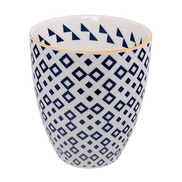 Porcelánová šálek Geometric No4, 8,7x9,8 cm