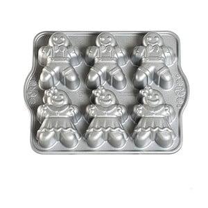 Forma na mini bábovky Nordic Ware Holčička a chlapeček