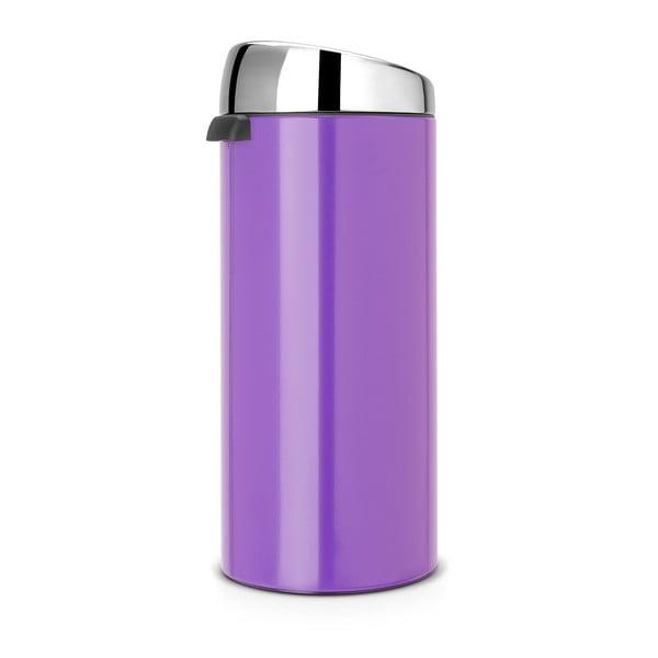 Dotykový odpadkový koš Touch Bin, 30 l, fialový
