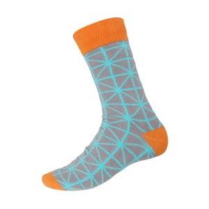 Ponožky Orange Ornament, velikost 40-44