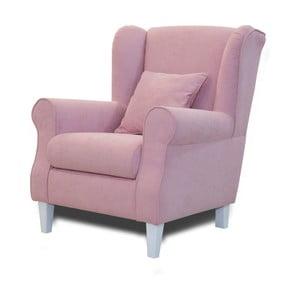Růžové křeslo Sinkro Flamingo