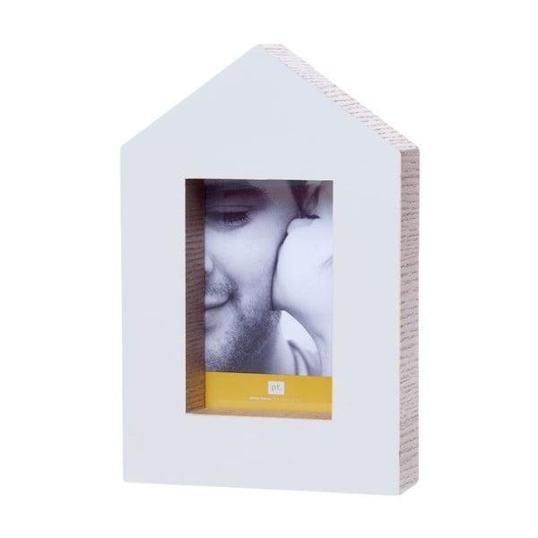 Fotorámeček House Wood White
