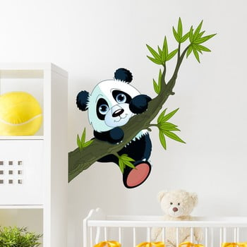 Autocolant Ambiance Panda On Branches