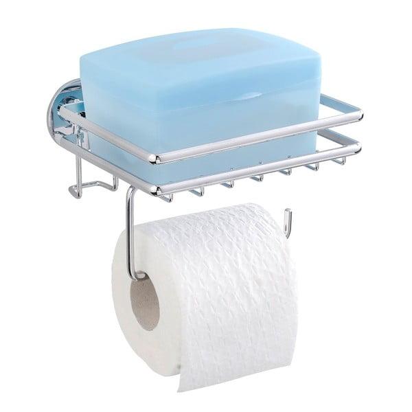 Express-Loc Cali fúrásmentes WC-papír tartó, polccal - Wenko