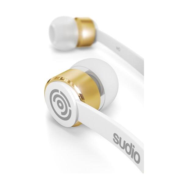 Bílá sluchátka Sudio Klang