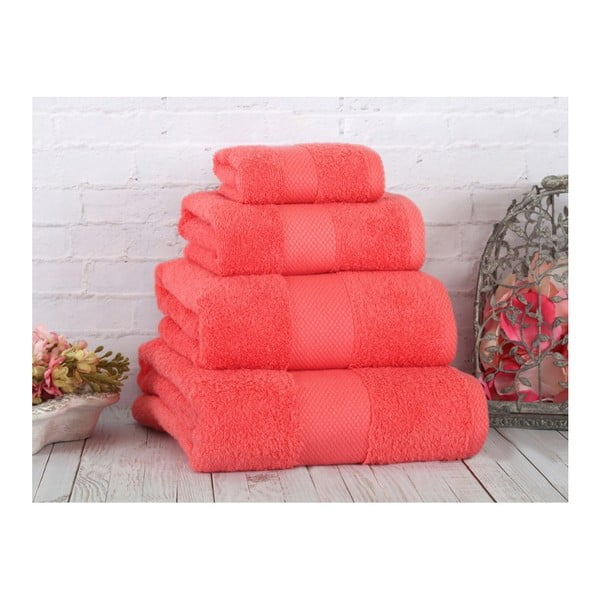Korálový ručník Irya Home Coresoft, 30x50 cm