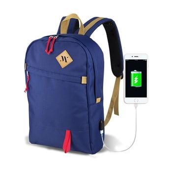 Rucsac cu port USB My Valice FREEDOM Smart Bag, albastru