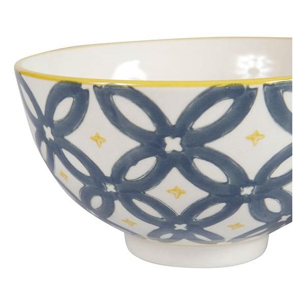 Sada 4 porcelánových misek Flower, 11.5 cm