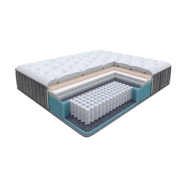 Měkká matrace s taštičkovými pružinami Glory Firm, 90 x 200 cm