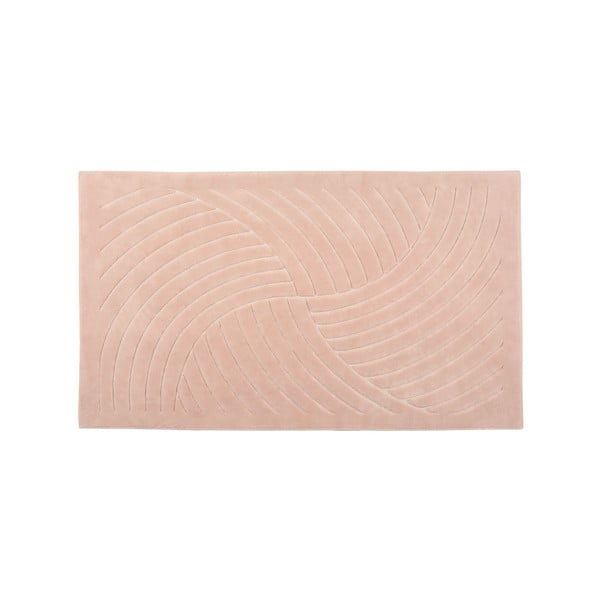 Koberec Waves 140x200 cm, růžový