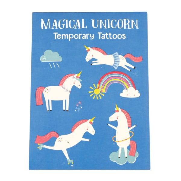 Set tatuaje temporare Rex London Magical Unicorn