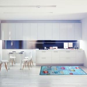 Vysoce odolný kuchyňský běhoun Webtappeti Pots,60 x 240cm