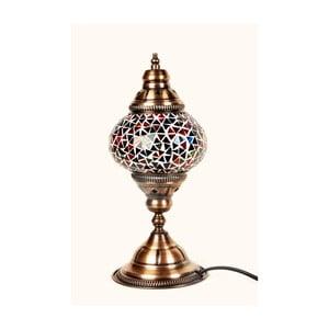Skleněná lampa Homemania Oriental, ⌀13cm