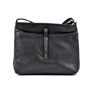Černá kožená kabelka Roberta M Lasmina