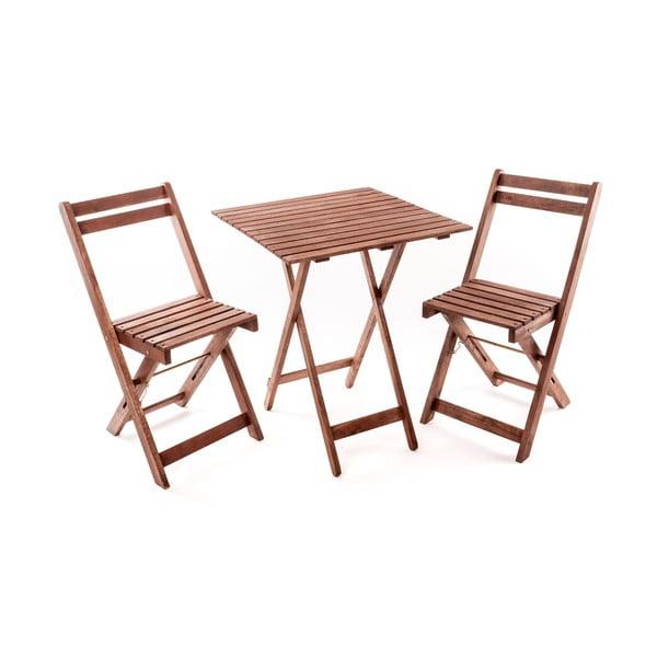 Zahradní nábytek se čtvercovým stolem Ava