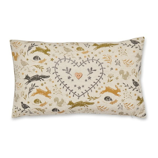 Polštář z bavlny Cooksmart England Woodland,50x30cm