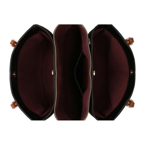 Černá kabelka Beverly Hills Polo Club Ramona