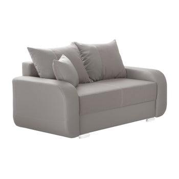 Canapea cu 2 locuri INTERIEUR DE FAMILLE PARIS Destin nej - gri