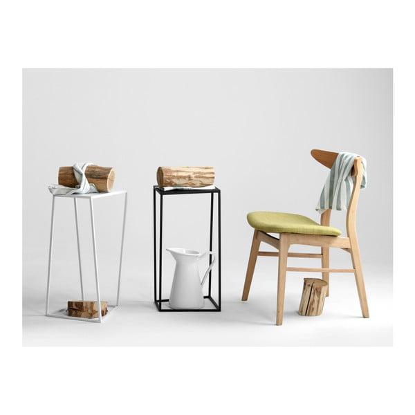 Černý odkládací stolek Custom Form Zak