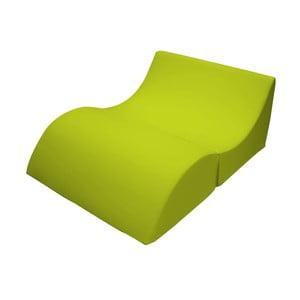 Zelené variabilní lehátko/stolek 13Casa Cleo
