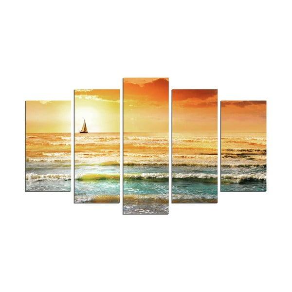 Tablou din mai multe piese Sunset