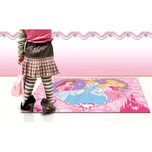 Dětský koberec Princess 95x133 cm