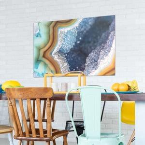 Skleněný obraz OrangeWallz Gemstone Super, 76 x 114 cm