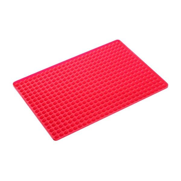 Czerwona podkładka do pieczenia Westmark Crispy, 40 x 28 cm