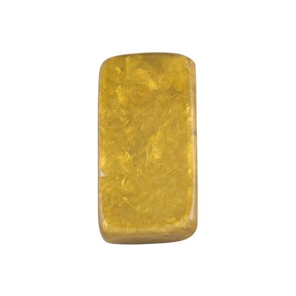 Prsten Stone, žlutý