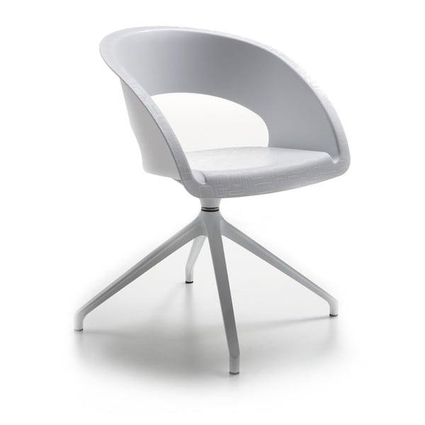 Bílá ancelářská židle Zago Que Five