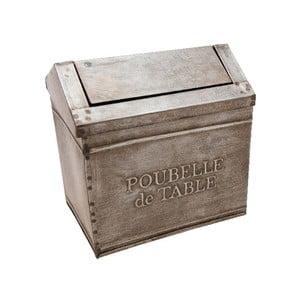 Doză metalică Poubelle