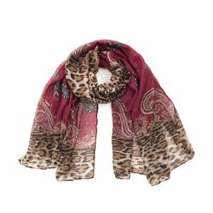 Tmavě červený šátek Art of Polo Goro